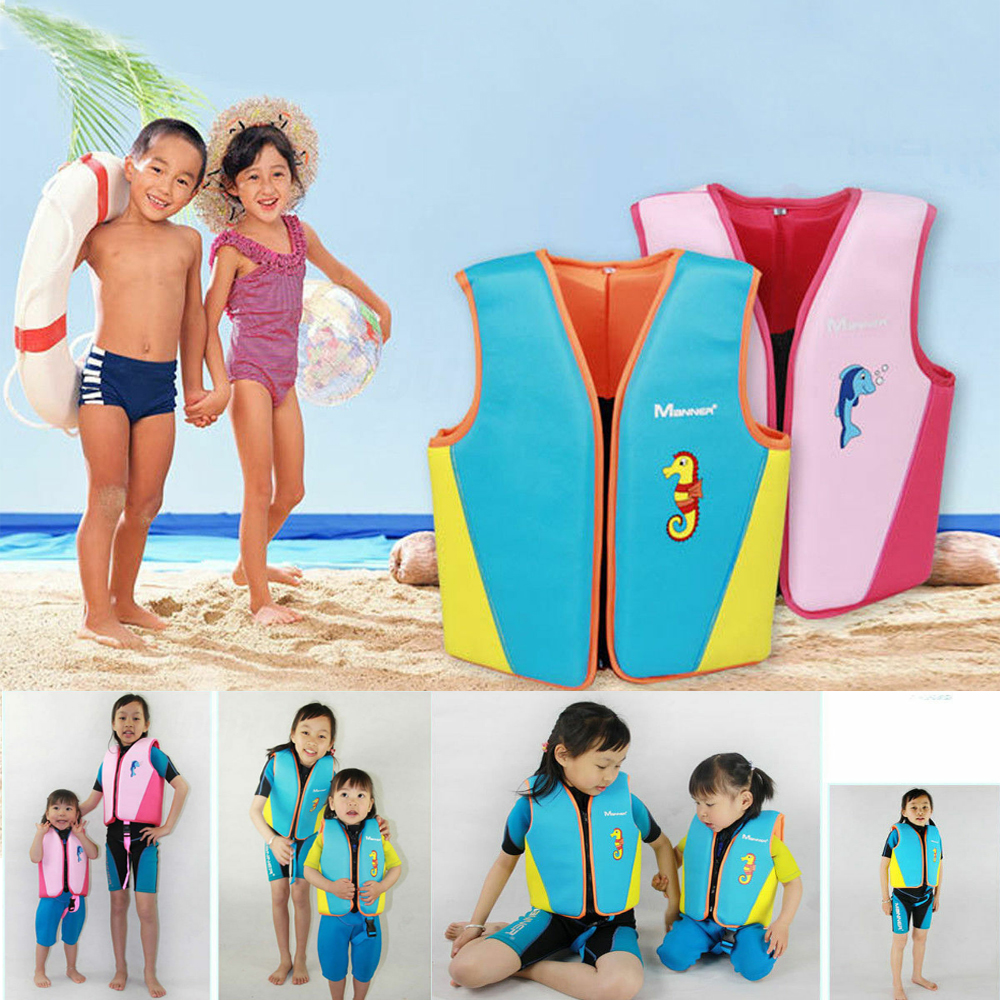 Children Inflatable Pool Float Life Jacket Vest Baby Swimming Safety Vests NI