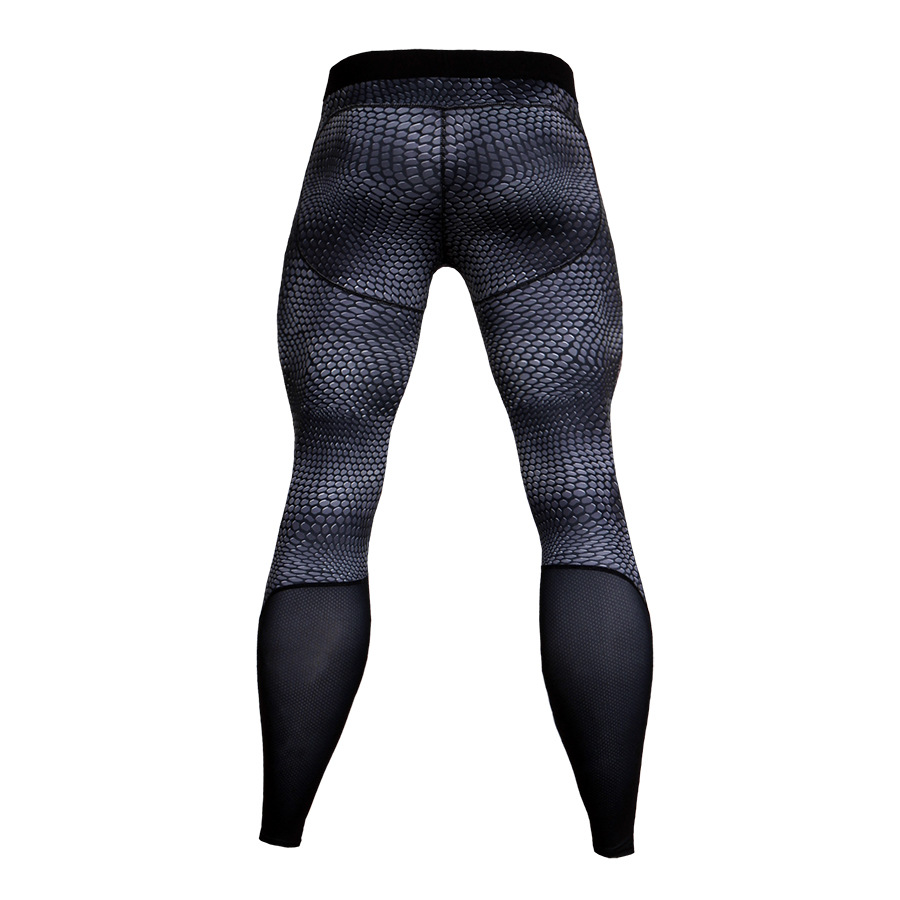 Men-Apparel-Compression-Tight-Base-Layer-Pants-Long-Leggings-Gym-Sports-Trousers thumbnail 27