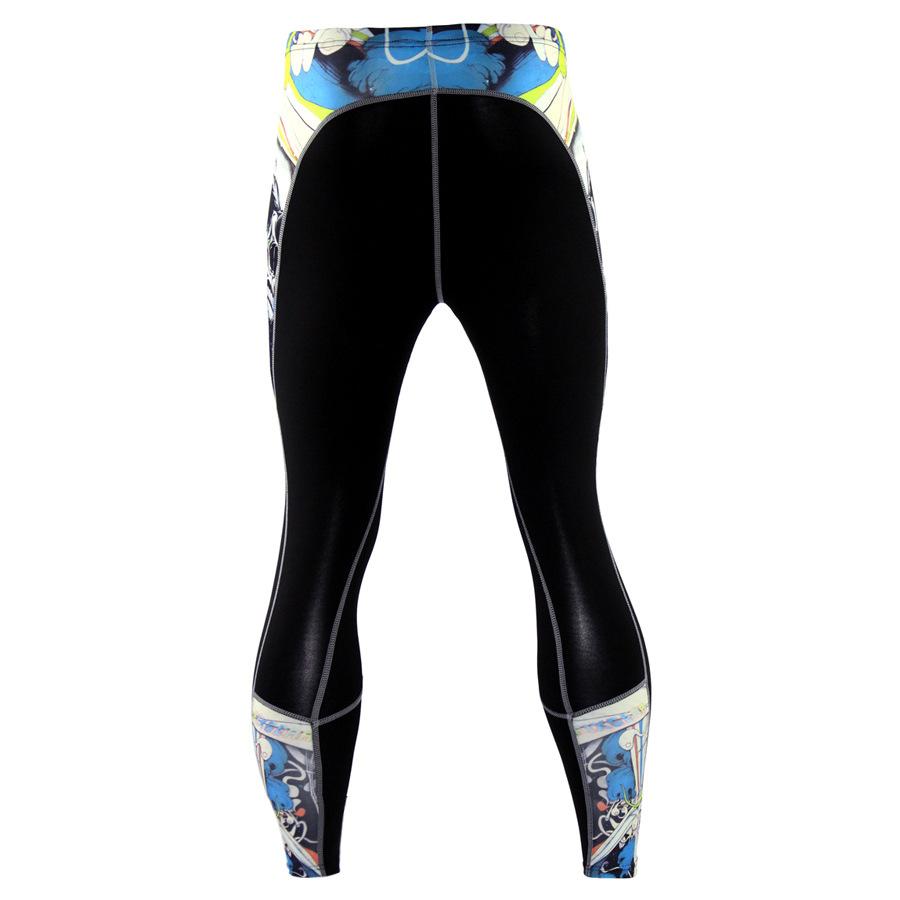 Mens-Compression-Pants-Running-Basketball-Tights-Workout-Gym-Base-Layer-Spandex thumbnail 28