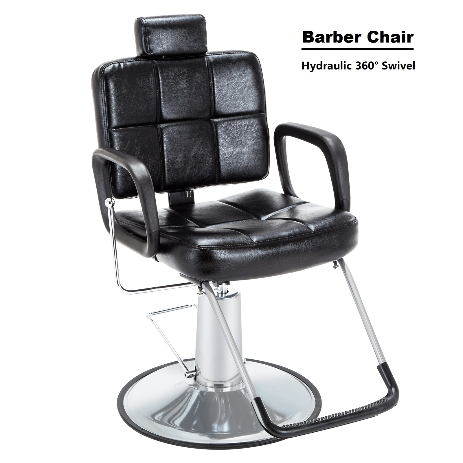 Pleasant Details About 3600Swivel Barber Chair Hydraulic Pump Footrest Cover Recliners Salon Equipment Bralicious Painted Fabric Chair Ideas Braliciousco