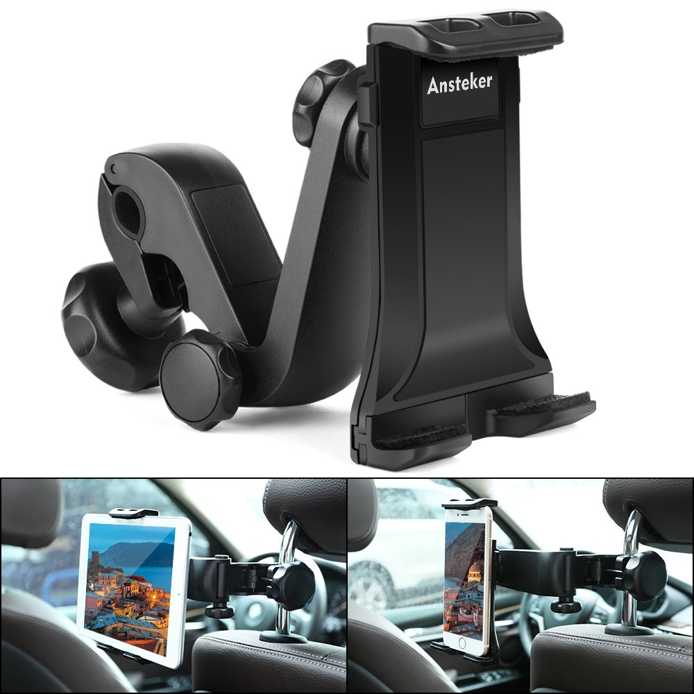 Car Seat Headrest Backseat Phone Tablet Holder Mount  For Apple iPad Mini 4-11""