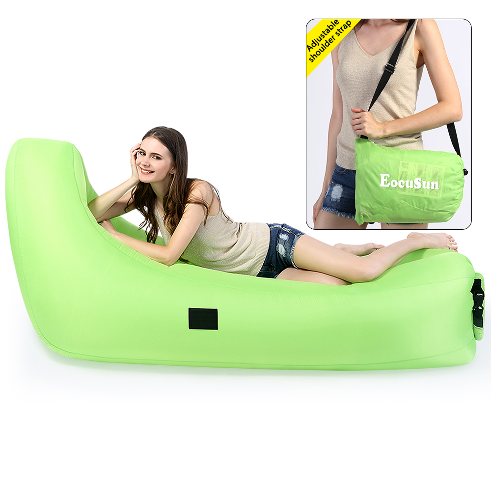 Terrific Details About Eocusun Inflatable Air Sofa Lounger Couch Beach Bed Lazy Chair Camping Sleeping Lamtechconsult Wood Chair Design Ideas Lamtechconsultcom