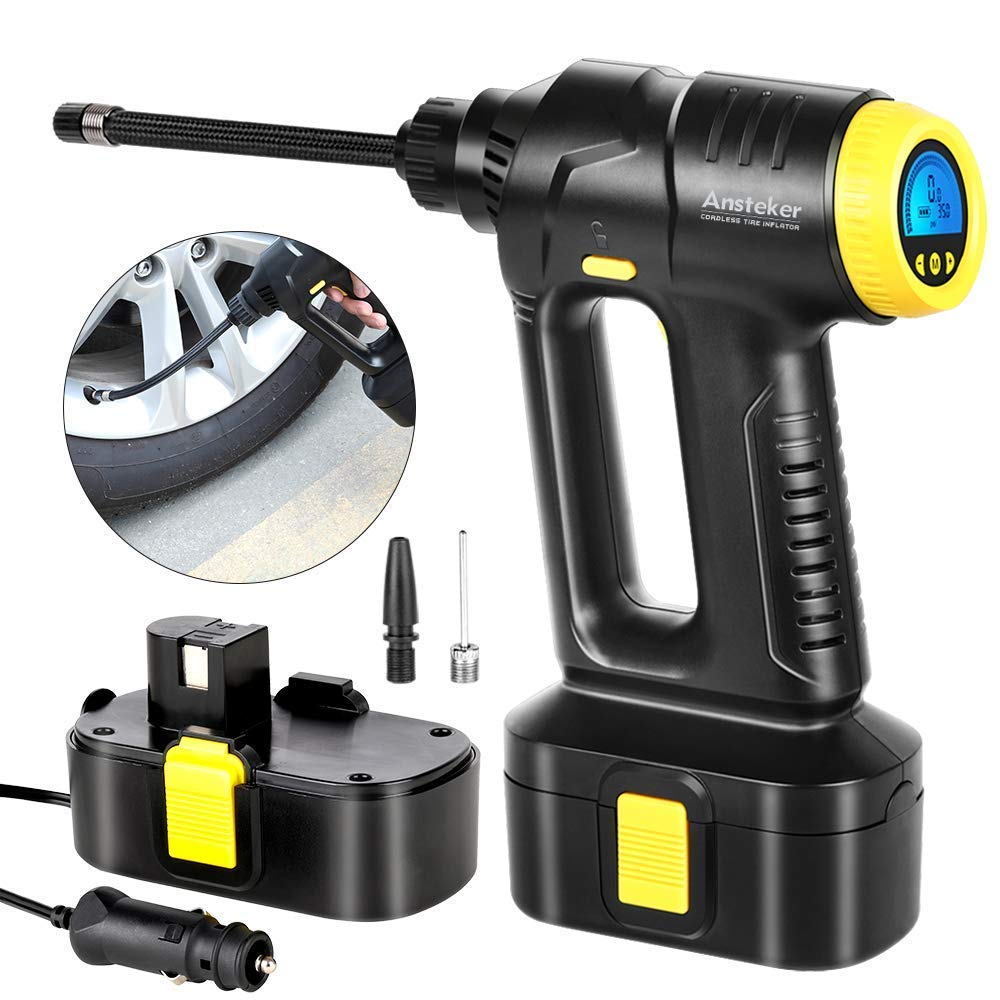 Cordless auto shop tire inflator who makes snapper mowers for walmart