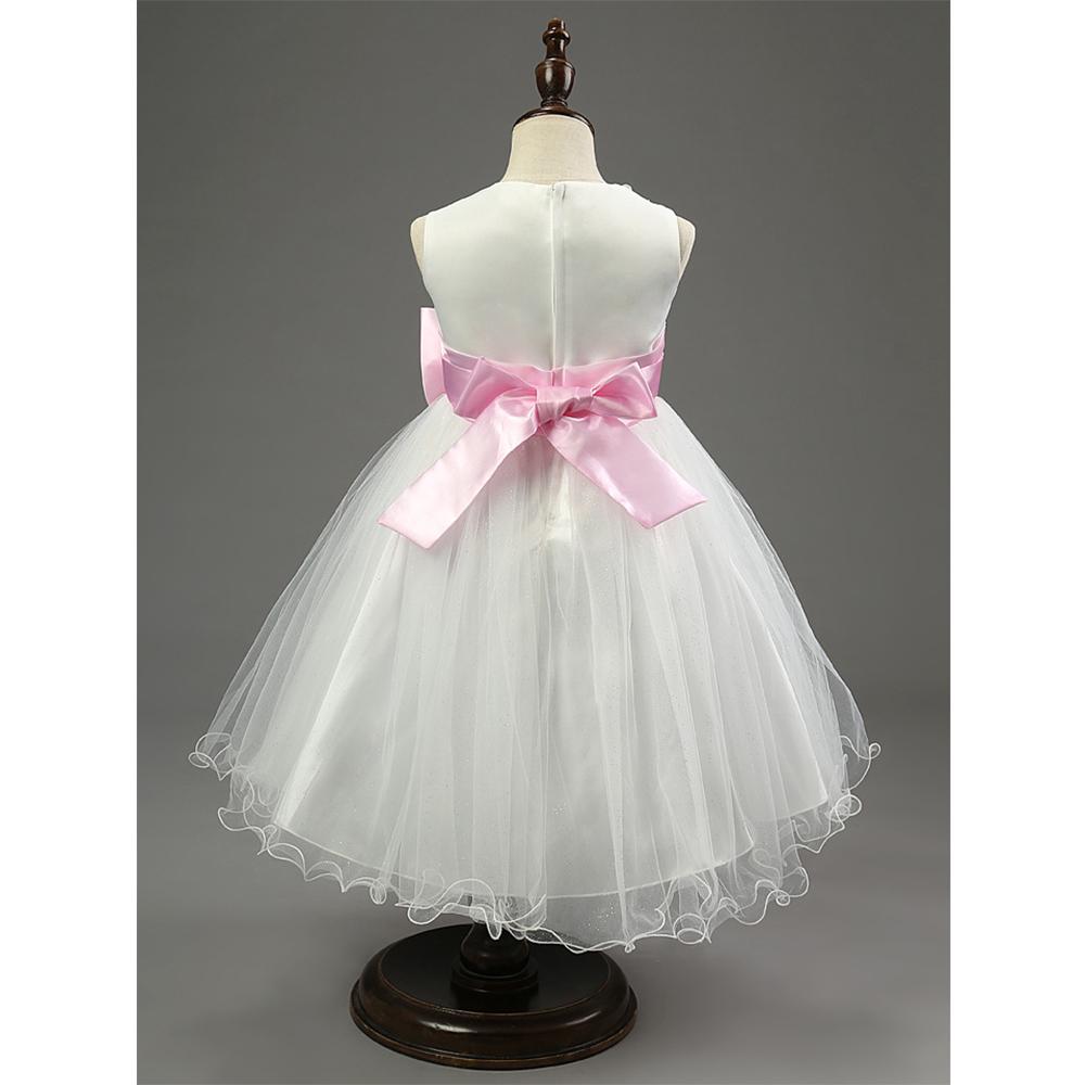 Baby Mädchen Kinder Blume Taufe Kleid Abendkleid Hochzeit Prinzessin ...