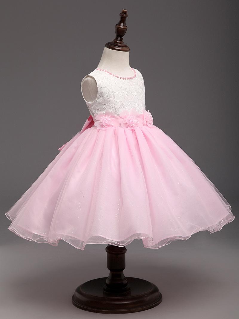 Baby Kinder Mädchen Blumenmädchen Hochzeit Party Sommer Kleid ...