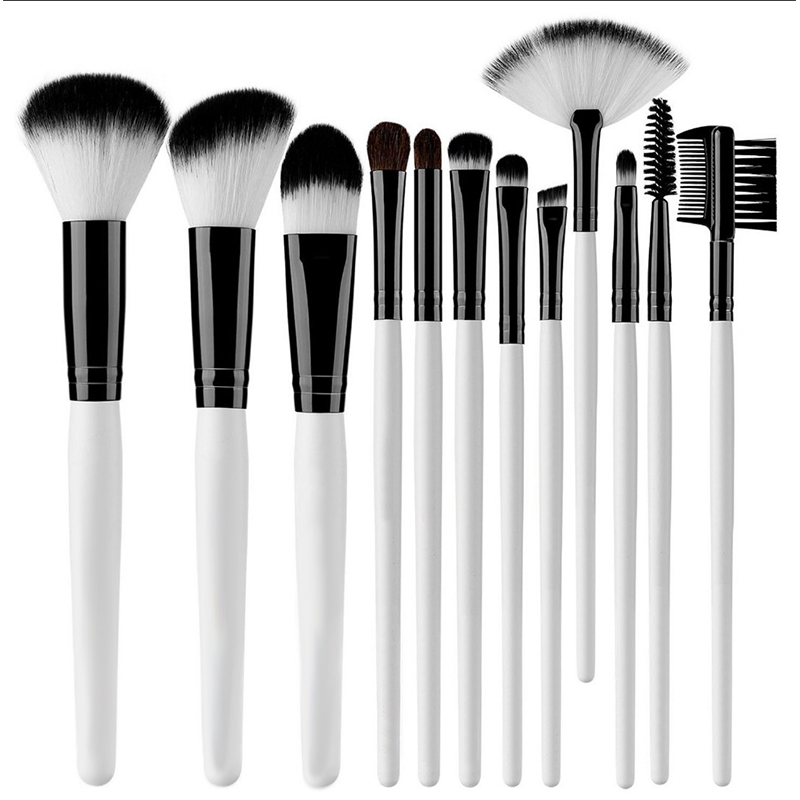 Professional Makeup Brushes 12 Piece