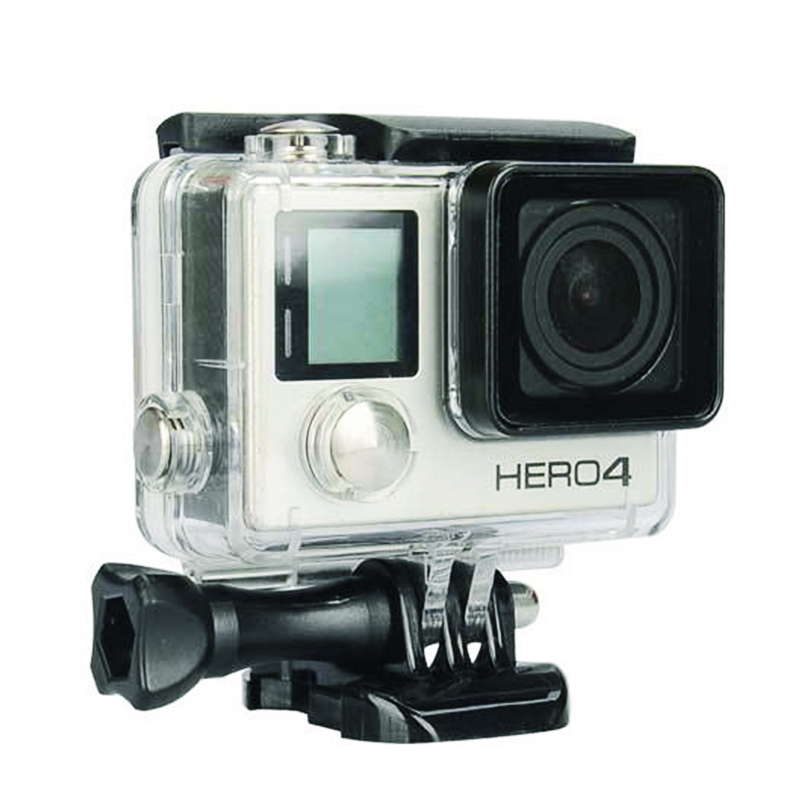 Details about GoPro Hero 3/3+/Hero 4 Underwater Waterproof Dive Case  Housing Transparent Stand