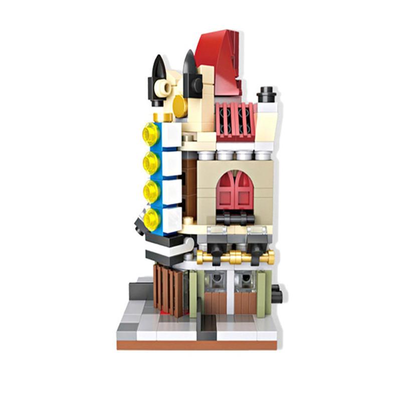 Toy Castle Show : Kids building blocks bricks toy castle home streetscape