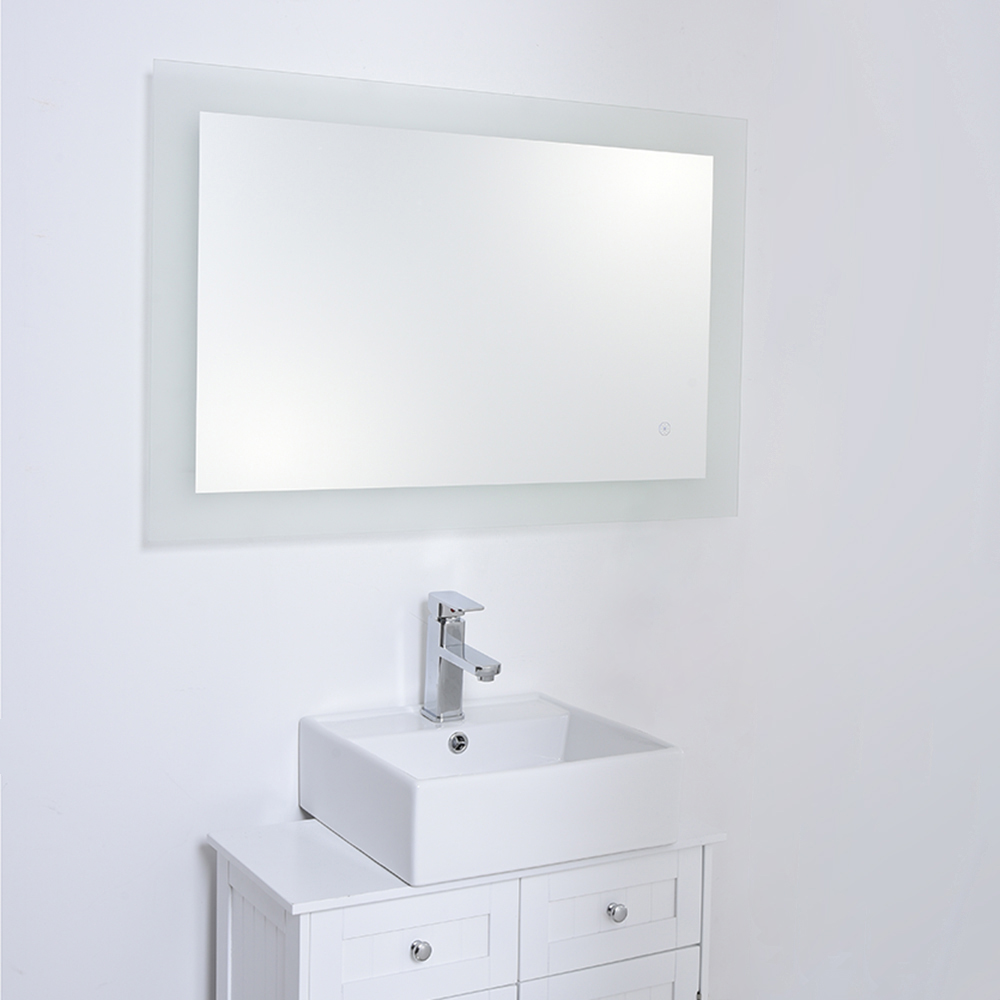 NEW 600x900mm modern LED illuminated bathroom mirror IP44 Built-in ...
