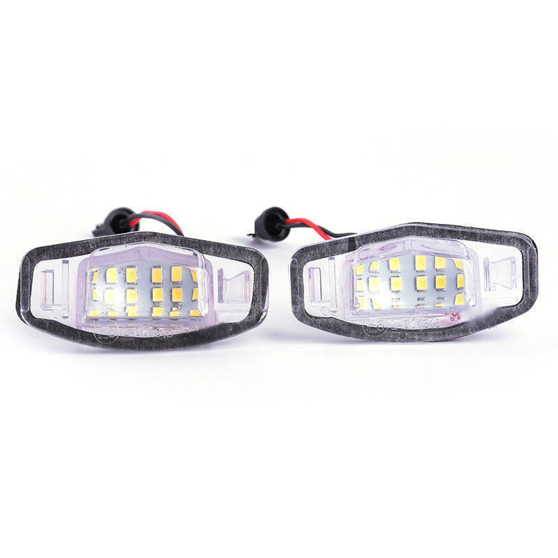 2* 18 LED License Plate Light Direct For Acura TL TSX MDX