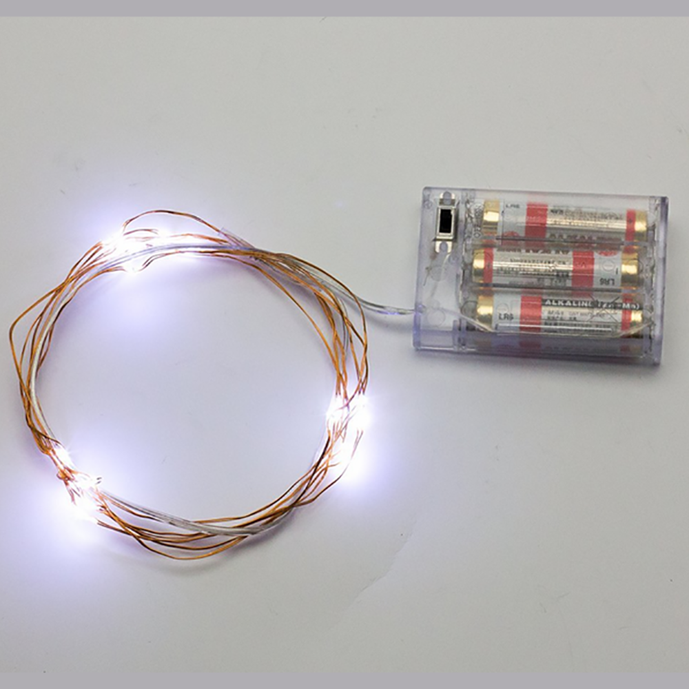 USB Battery LED El Wire Christmas Tree Night Rope Light Show Fairy ...