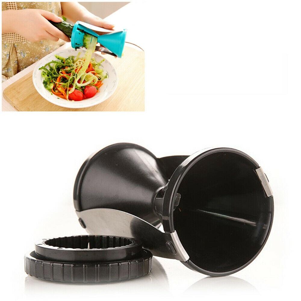 Spiral Slicer Vegetable Spiralizer Zucchini Spaghetti Pasta Noodle Maker  Cutter | eBay