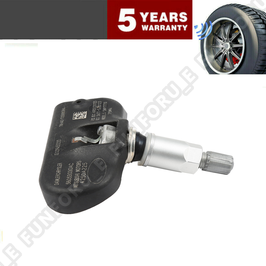 SET OF 4 Dodge Jeep Chrysler 56053030AC TPMS Tire Pressure Monitor Sensor OEM