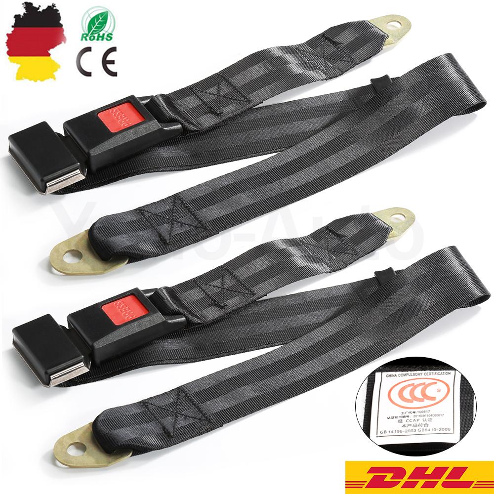 Beckengurt Statik LKW Bus PKW Stapler Sicherheitsgurt Gurt Made Germany 2 Punkt