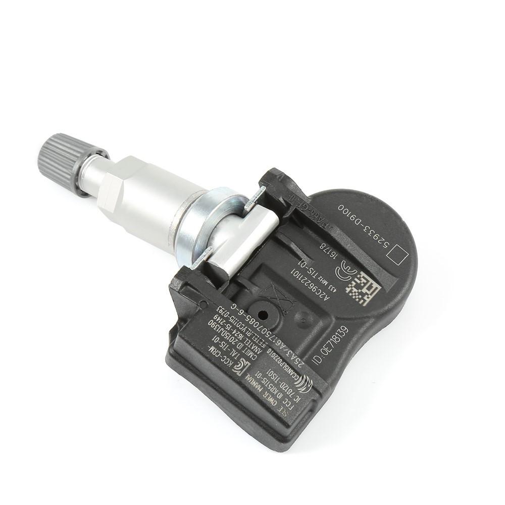rdks 433mhz PER HYUNDAI /& KIA 52933-d9100 4x NUOVO TPMS Tire Pressure