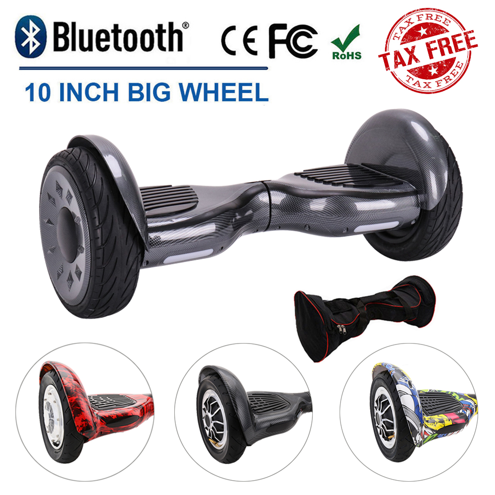Details About 10 Inch Self Balancing Scooter 2 Wheels Clic Style Electric Xmas Gift