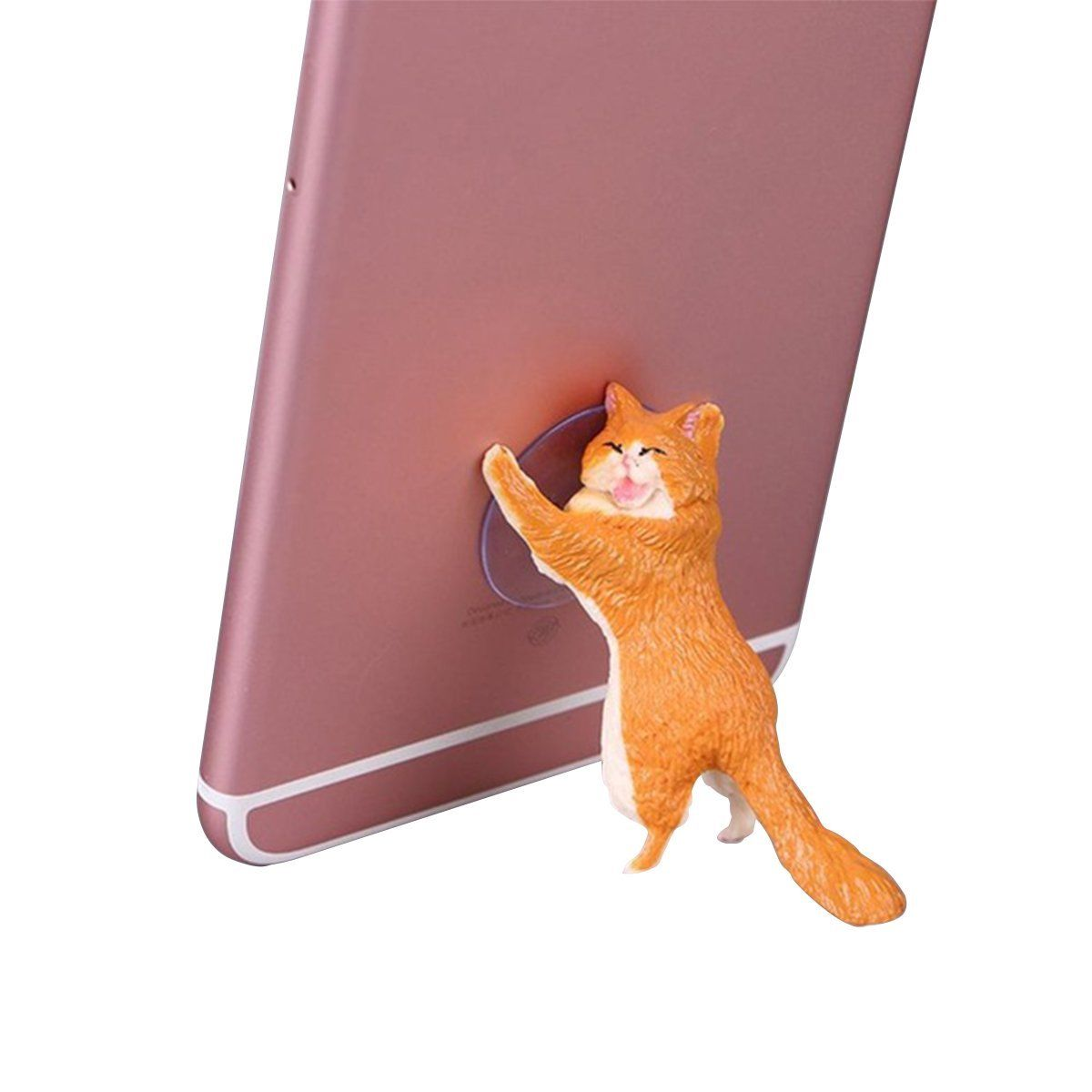 2019 NEW Cute Cat Cell Phone Holder Tablets Desk Car Stand ...