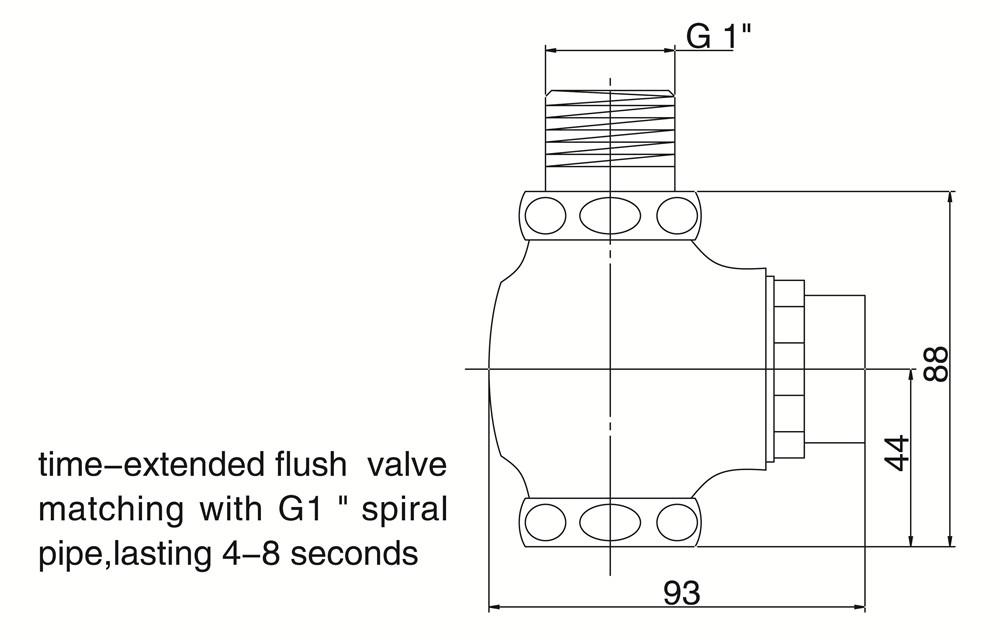 sloan urinal flush valve parts chrome brass button type manual delay automatic toilet repair kit royal