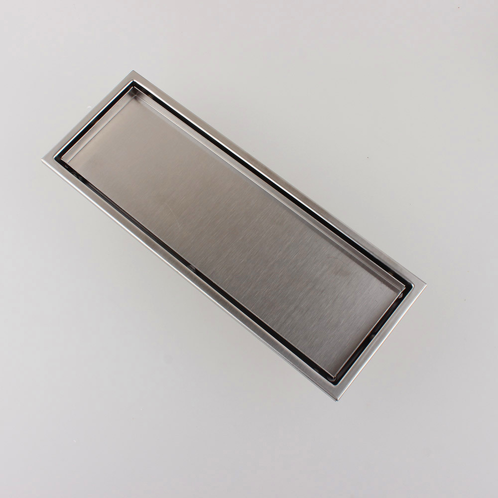 Bathroom Floor Drains Stainless Steel : Mm stainless steel linear shower drains floor grating
