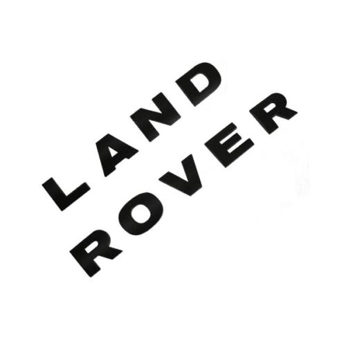 Land Rover Freelander 3D Matte Silver Letter Car Badge Emblem Decal Sticker