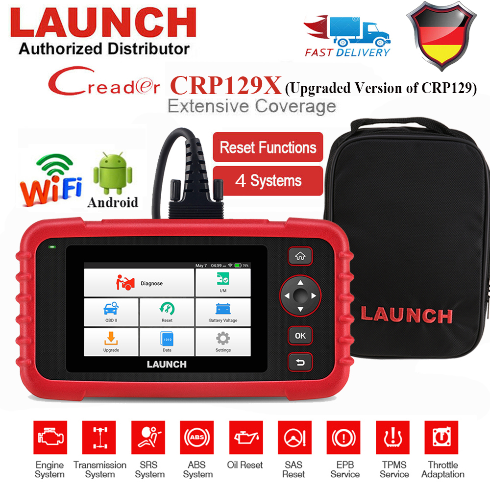 Launch CRP129 X Pro Profi OBD2 Diagnosegerät Auto KFZ Scanner Fehlerauslesegerät
