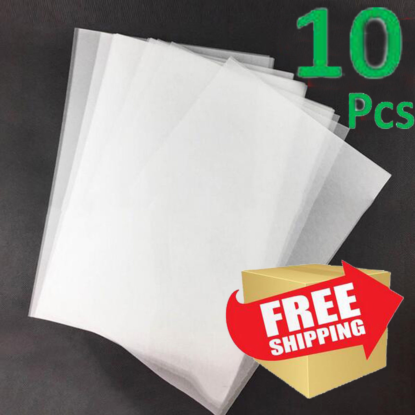 Unprintable White mofa emboss 8 Pcs Heat Shrink Film,Fine Frosted Surface Heat-Shrink Sheets,Great for DIY Pendant,Bracelet,Key Ring,Decoration and Etc