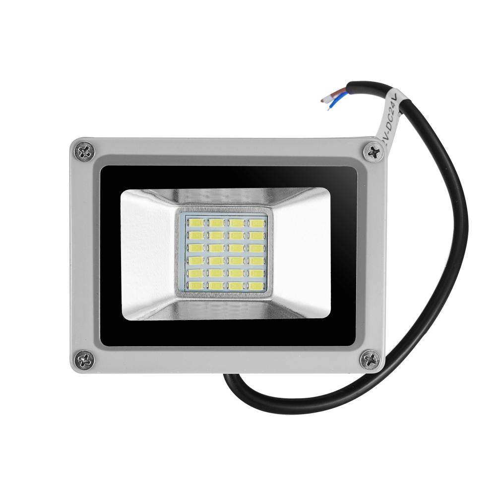 2x 20w led fluter strahler flutlicht dc12 volt kaltwei au en scheinwerfer lampe ebay. Black Bedroom Furniture Sets. Home Design Ideas