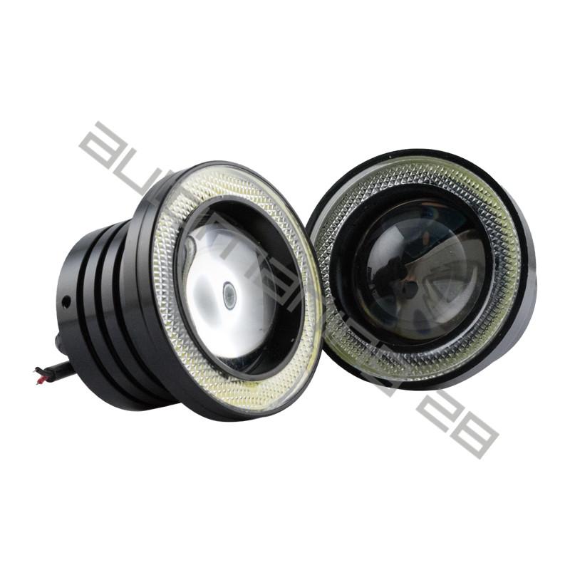 3 5 Quot Inch Round Rgb Angel Eye Halo Led Projector Fog Light