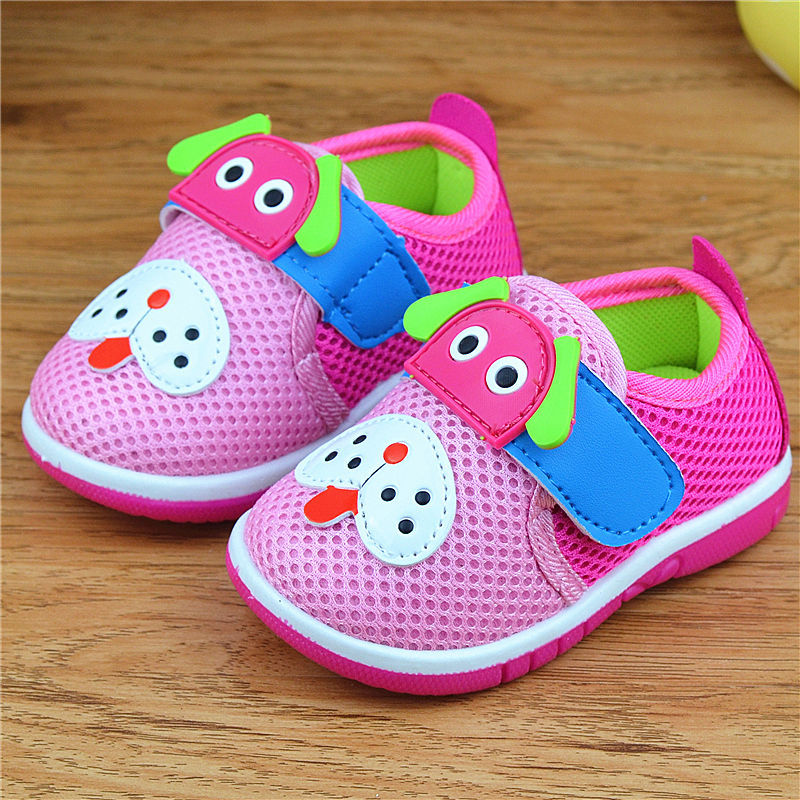 Breathable Baby Walking Shoes Squeaky Dog Toddler Boys Girls ...
