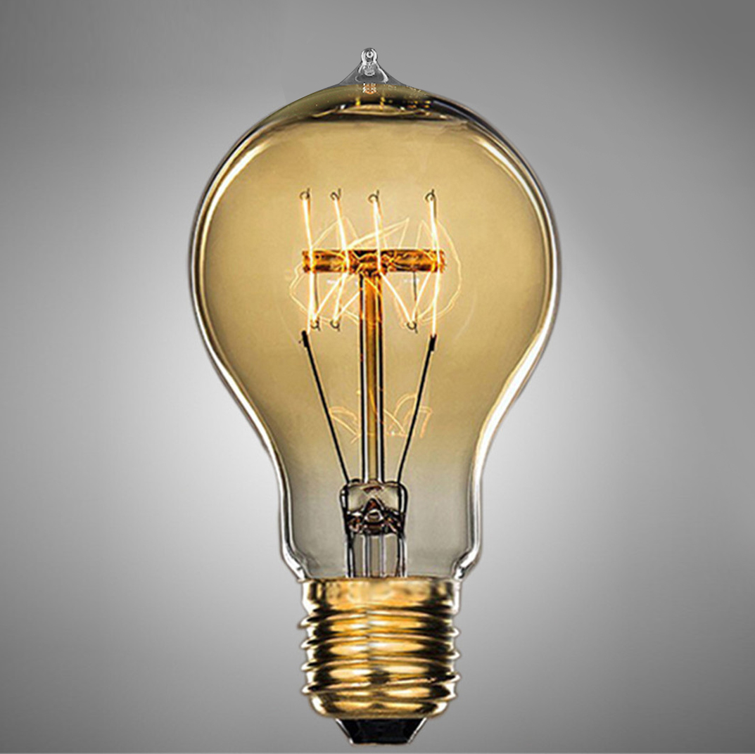 edison vintage retro gl hlampe filament classic nostalgie gl hbirne bulb e27 40w ebay. Black Bedroom Furniture Sets. Home Design Ideas