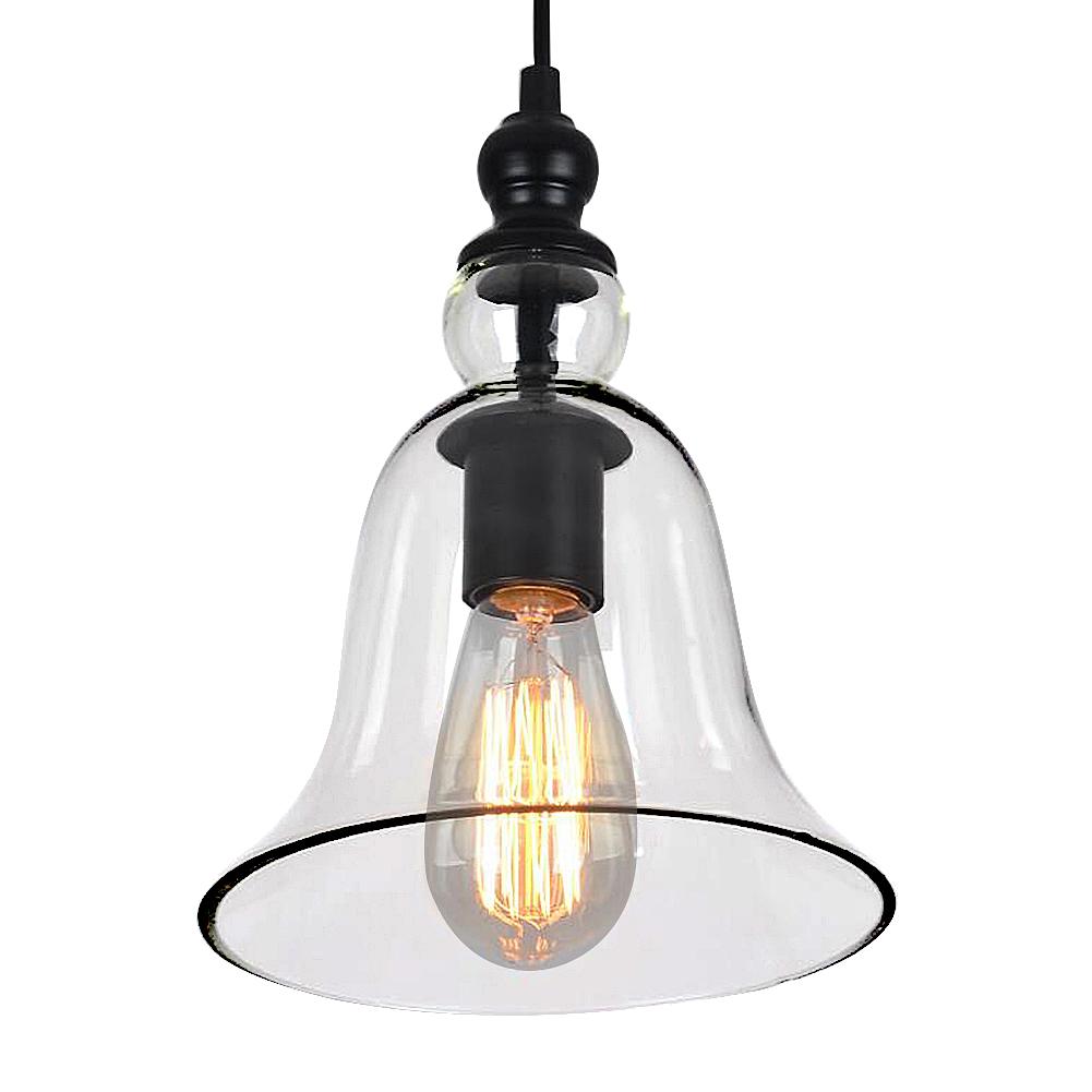 AuBergewohnlich Glas Lampenschirm Modern Kronleuchter Retro LED Pendelleuchte Mini  Deckenleuchte