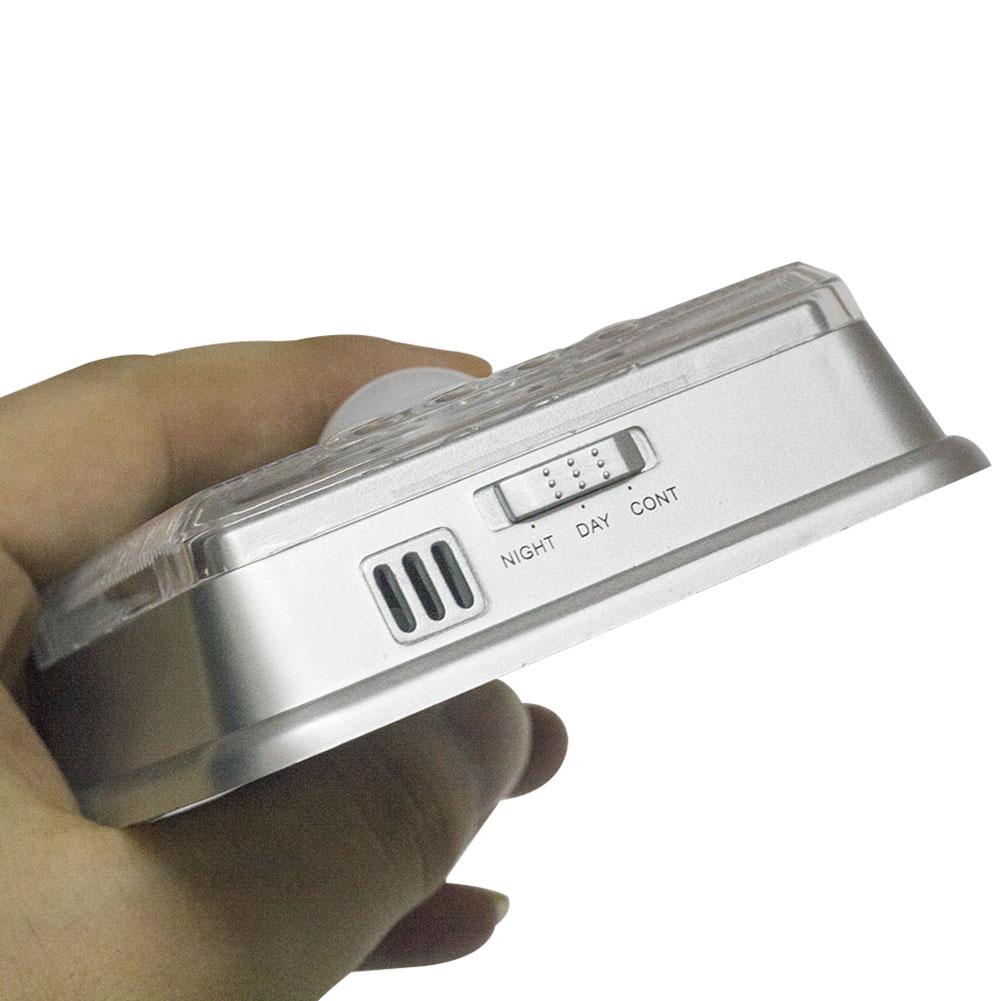 wei led nachtlicht mit bewegungsmelder 8 led pir nacht lampe licht batterie ebay. Black Bedroom Furniture Sets. Home Design Ideas