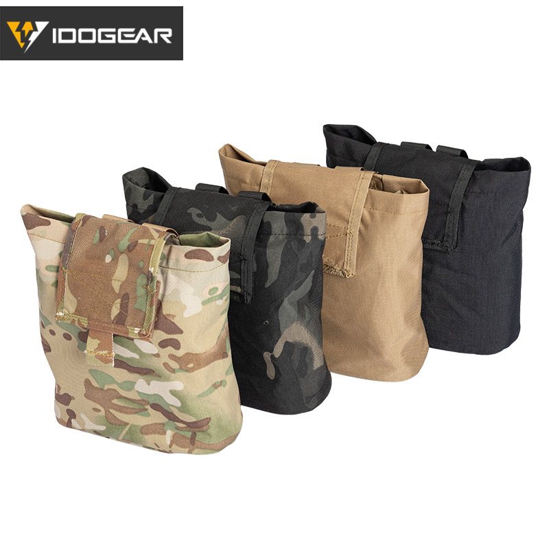 Tactical Recycling Hunting Magazine Dump Pouch Airsoft Accessories Bag G