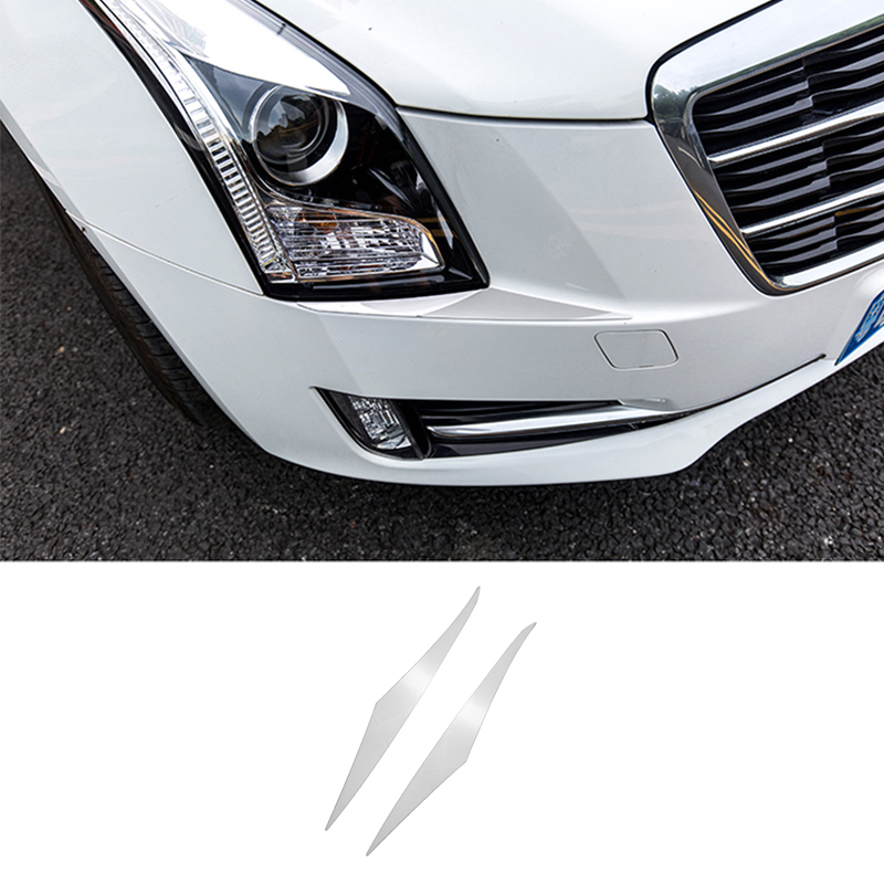 For Cadillac ATS 2013-2019 Silver Front HeadLight Lamp
