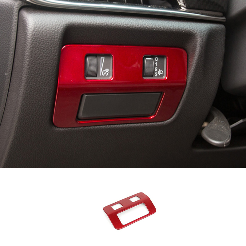For Cadillac ATS 2013-2017 2018 2019 Red Headlight Switch