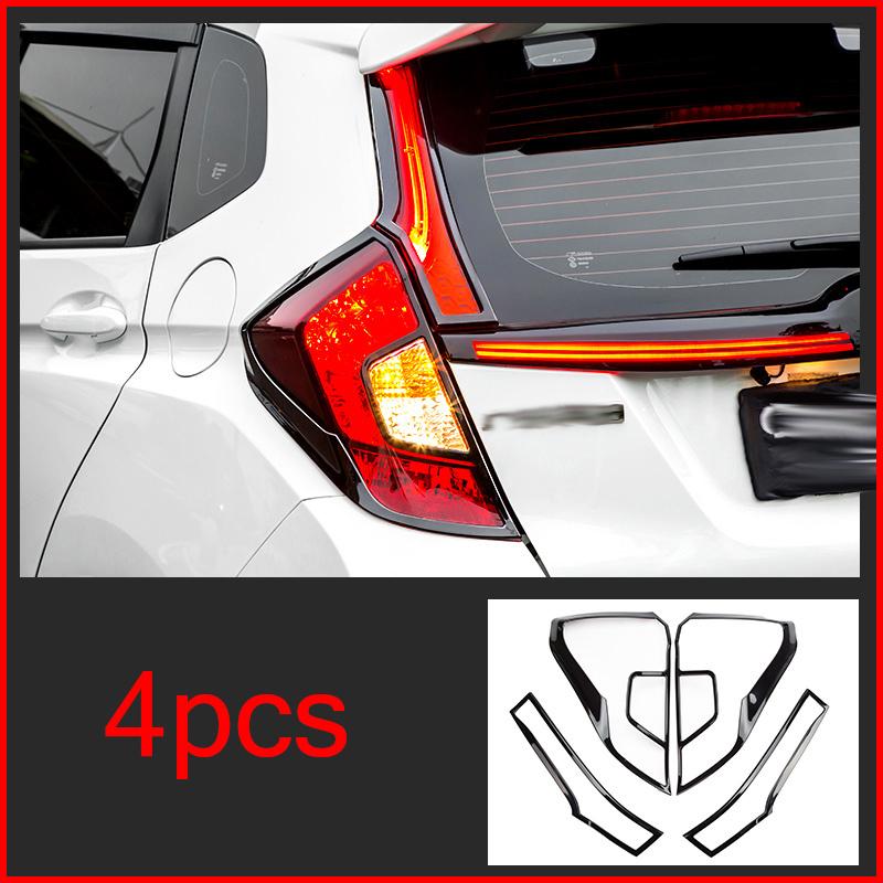 For Honda Jazz Fit GK5 2014-2018 Blue ABS Inner Gear Shifter Knob Cover Trim