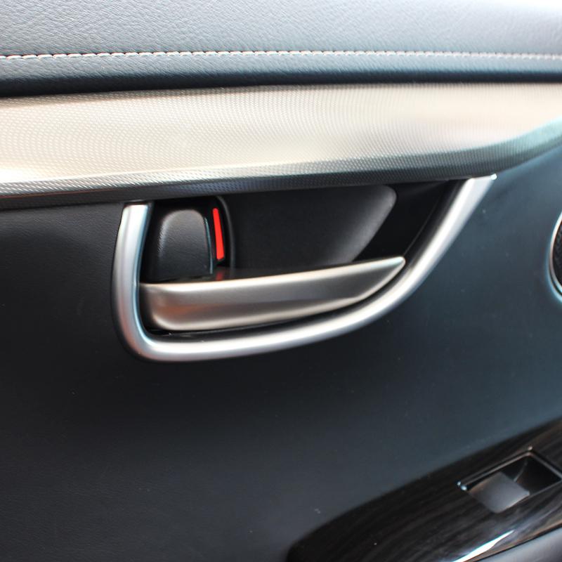 For Lexus NX200T//300H 2015-2016 4 PCS ABS Chrome Door Bowl Handle Trim Cover