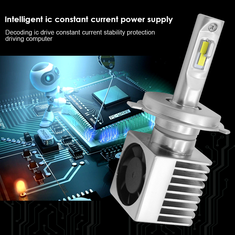 mcetek auto led headlight hb3 h4 h7 h8 birnen scheinwerfer. Black Bedroom Furniture Sets. Home Design Ideas
