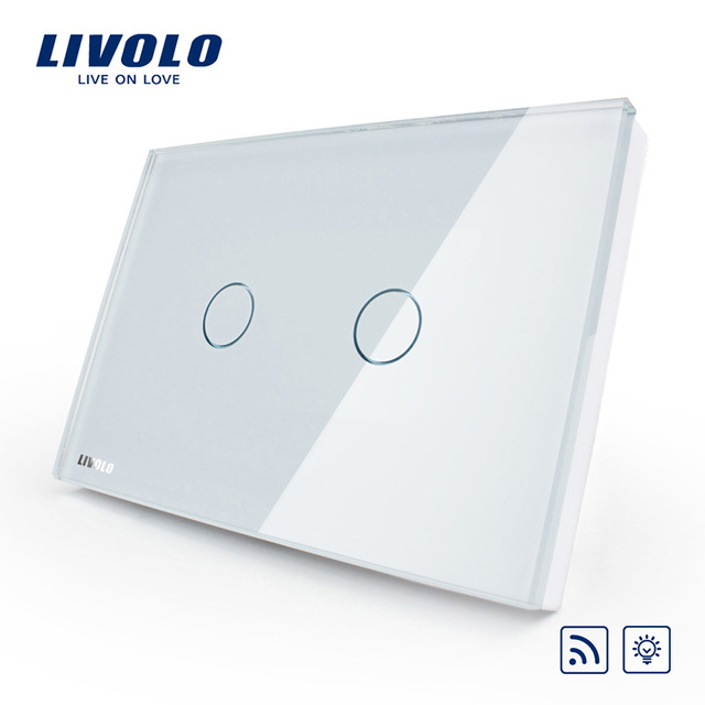 Livolo smart dimmer remote wall light switch usau standard ebay livolo smart dimmer amp remote wall light switch aloadofball