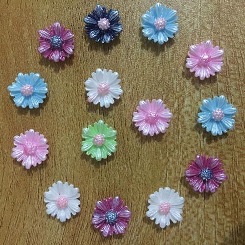20-120pcs Resin Rose Flower flatback Appliques For phone//wedding//crafts