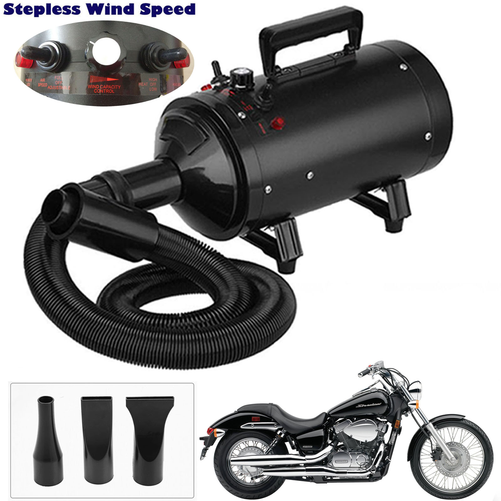 Air Force Blaster Dryer Compact Car and Motorcycle Dryer and Duster, Metro Dryer, Metro Air Force Blaster 2800W, Metro Blaster Dryer, Air Dryer