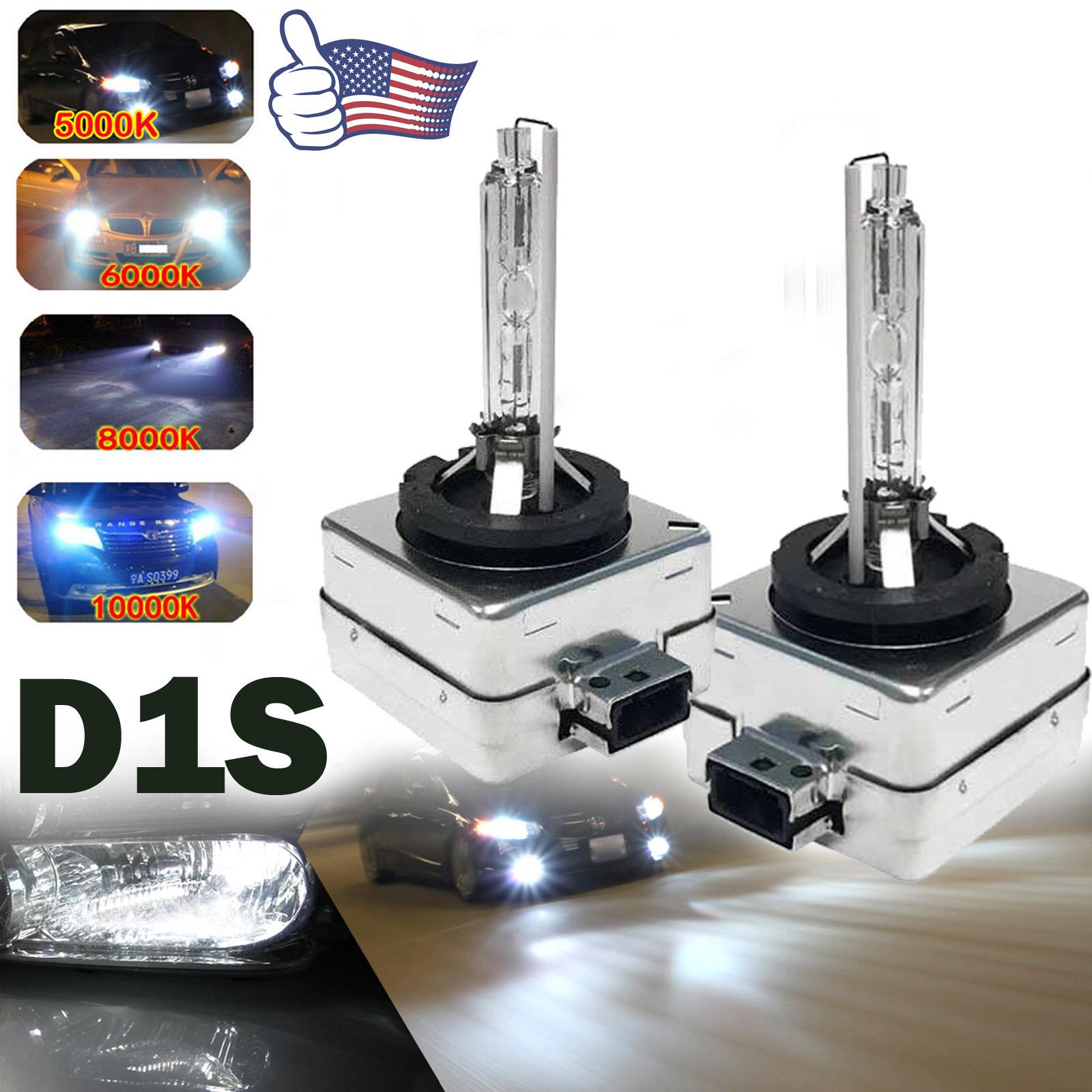 2PCS D1S OEM Xenon HID Bulbs 5000K 6000K 8000K 10000K 85415C1 85415