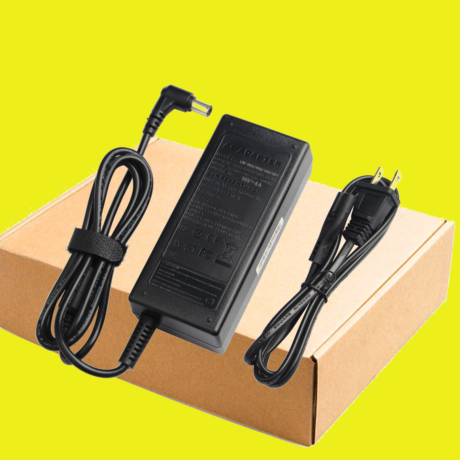 """LG 27/"""" 4K 27UD69P-W computer monitor power supply AC adapter cord cable charger"""
