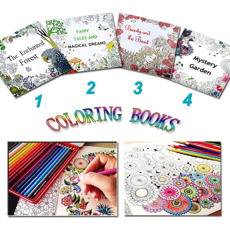 You May Also Like Hot Sale Secret Garden Treasure Hunt And Coloring Book By Johanna Basford