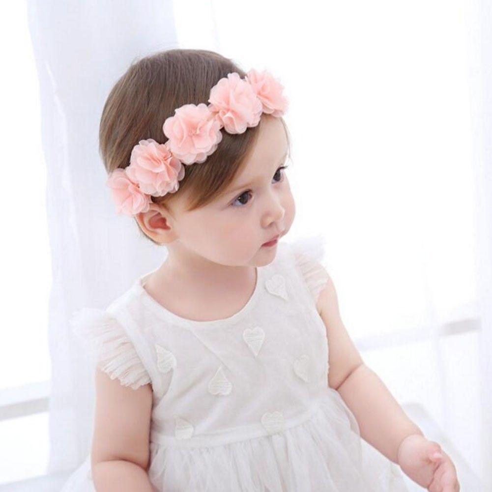cute newborn toddler children hair accessories baby headband lace