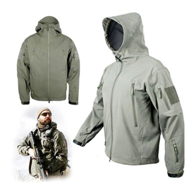 HELIKON tex Gunfighter Jacket Shark skin windblocker chaqueta Black negro Outdoor