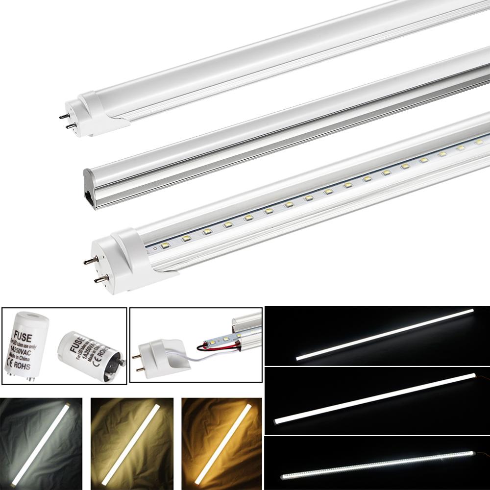 led leuchtstoffr hre t5 t8 tube 150 120 90 60cm lichtleiste r hrenlampe leuchte ebay. Black Bedroom Furniture Sets. Home Design Ideas