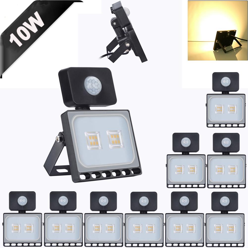 10X 30Watt LED Flood Light High Power Cool White Indoor Outdoor Lighting Fixture