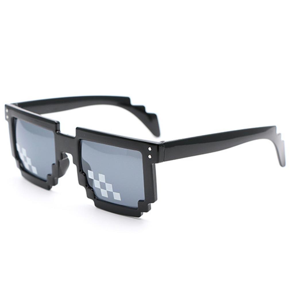Interessante Mosaik Sonnenbrille schwarze Sonnenbrille (Japan-Import) 0hi7J
