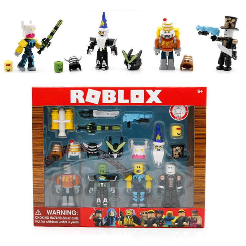 Roblox Robot Riot Mix & Match Set PVC Game Toy Action